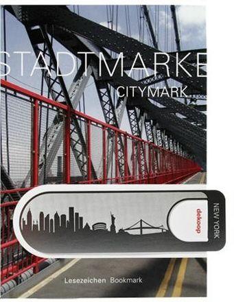 dekoop Lesezeichen - Stadtmarke New York