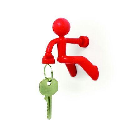 Magnetischer Schlüsselhalter - Key Pete rot
