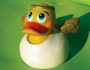 Lanco Quietscheentchen - Angel Duck