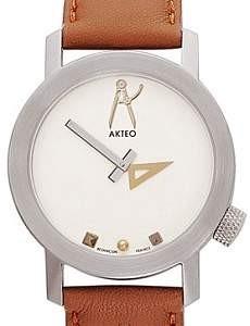 Akteo Armbanduhr - Architekt 02 silber