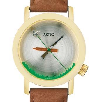 Akteo Armbanduhr Jagd gold