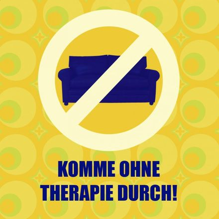 sticky jam Kühlschrankmagnet - Ohne Therapie