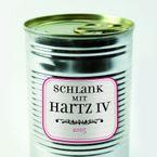 sticky jam Kühlschrankmagnet - Schlank mit Hartz IV