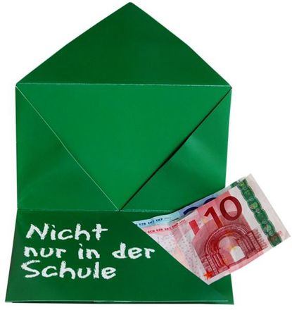 Geld-Geschenk-Umschlag - Noten