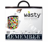 Remember Papierkorb Wasty - Mosaic