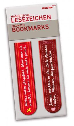 Magnetisches Lesezeichen-Set - Ehre-Romane, 2-teilig