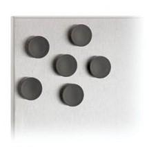 blomus Magnet-Set - Muro schwarz, 6-teilig