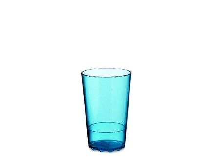 Mepal Trinkglas Wave 200 ml blau