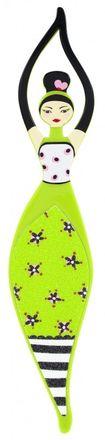 Pylones Fußfeile - Babyfoot grün