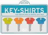 Fred Schlüsselkappen-Set - Key Shirts Pockets, 4-teilig