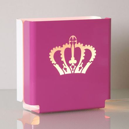colaro Lampe - Molight Crown, pink