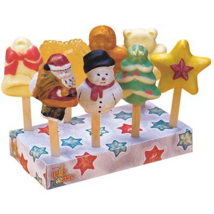 Städter Servierbox für 8 Lolly Cakes - Weihnachten
