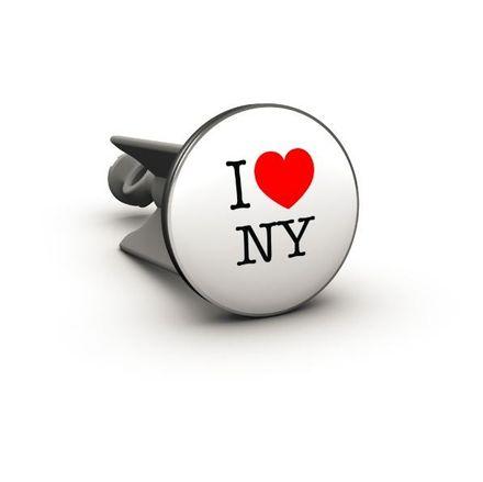 2CA Waschbecken-Stöpsel plopp - I love NY