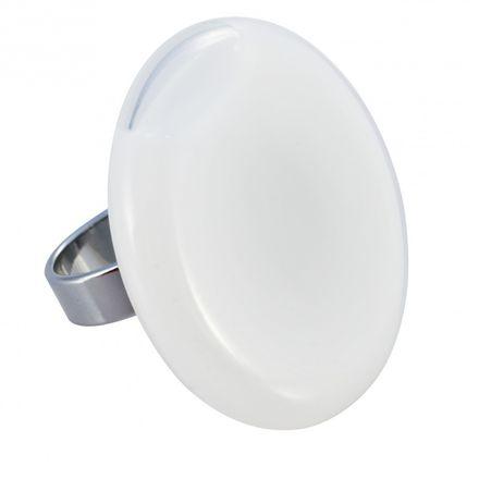 Pylones Ring - Giga Plate Milk, weiß