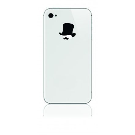 iPhone-Sticker - Mr. Watson, schwarz