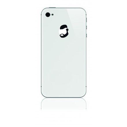 iPhone-Sticker - Mr. Cool, schwarz