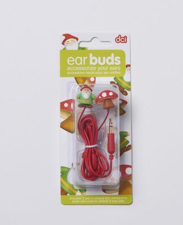 Kopfhörer-Set - Earbuds, Zwerg mit Fliegenpilz
