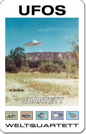 Quartett-Spiel - Ufos