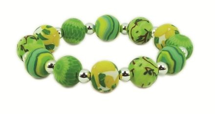 Hergo Collection Armband 12 mm - Summer Breeze, grün