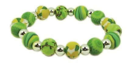 Hergo Collection Armband 9 mm - Summer Breeze, grün