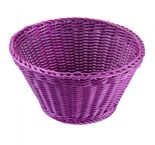 Saleeen Korb rund, konisch - purple - 22 cm Durchmesser