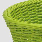 Saleeen Tischkorb oval, konisch - lime - Länge 26 cm