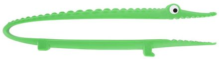 Pylones Küchenzange - Croc'odile dunkelgrün