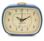 Kikkerland Wecker - Retro Alarm Clock blau