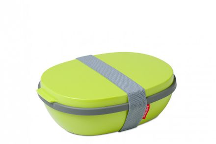 Mepal Lunchbox Ellipse Duo, Latin lime