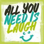 sticky jam Kühlschrankmagnet - Laugh