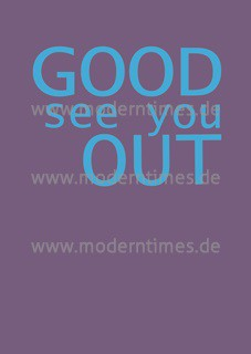 Postkarte - Good see you out