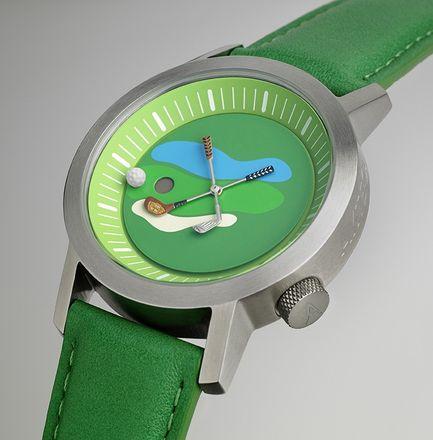Akteo Armbanduhr Golf 01 - 42 mm