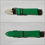 Akteo Tausch-Armband Leder 22 mm - grün