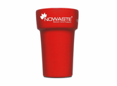 Nowaste Trinkbecher Tree Cup 300 ml - rot