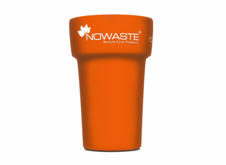 Nowaste Trinkbecher Tree Cup 300 ml - orange