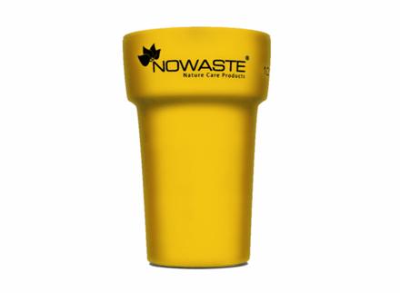 Nowaste Trinkbecher Tree Cup 300 ml - gelb