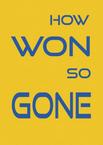 Postkarte - How won so gone
