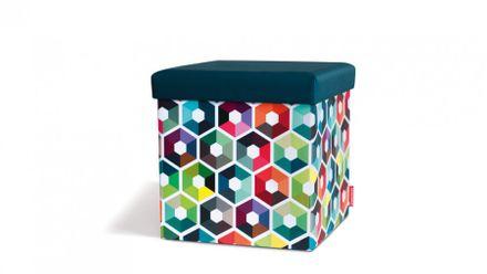 Remember Sitzhocker - Sitting Box Hexagon