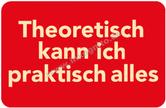 inkognito Kühlschrankmagnet - Theorie & Praxis