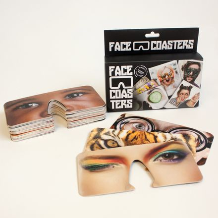 Karten-Set Face Coasters, 20 Stück
