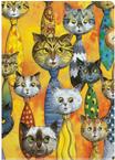 Inkognito Sichthülle DIN A4 - Katzenkrawatten