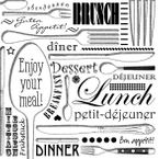 Atelier Papierservietten - Enjoy your meal, 20 Stück