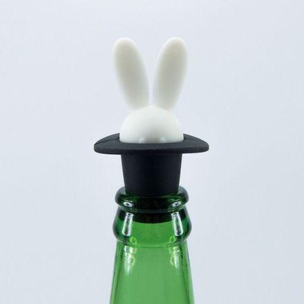 Flaschenstopfen - Flaschenverschluss - Zauberhase