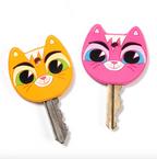 GamaGo Schlüsselkappen-Set - Key Cats, 2-teilig