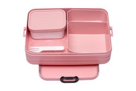 Mepal Lunchbox TAB large mit Bento-Einsatz, Nordic pink