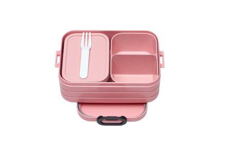 Mepal Lunchbox TAB midi mit Bento-Einsatz, Nordic pink