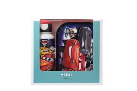 Mepal Lunchset Campus 3.0 Cars mit Pop-up Trinkflasche