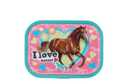 Mepal Brotdose Campus 3.0 I love horses, mit Bento-Einsatz
