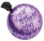 Electra Fahrradklingel - Domed Ringer Bell XOXO Herz purple