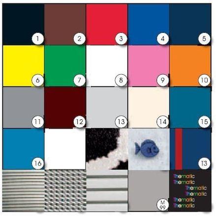 Akteo Ersatz-Armband Leder 18 mm - Blau